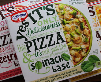 """Yes it's pizza"" da Dr. Oetker"