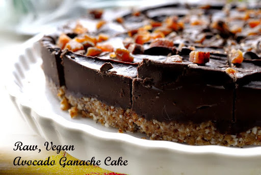 Top Recipe Re-Hash: Raw, Vegan, Gluten-Free Avocado Ganache Cake