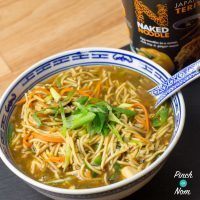 1 Syn Chicken Teriyaki Noodle Soup | Slimming World
