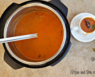 Instant Pot Creamy Tomato Basil Soup (Dairy Free, Gluten Free, Paleo, Whole30, Vegan and Slow Cooker Options Noted)