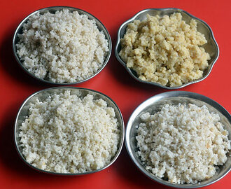 How To Cook Millet – Thinai, Varagu, Samai, Kuthiraivali, Kambu