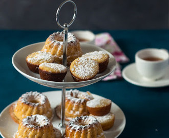 Orange marmalade Mini Tea Cakes