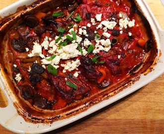 Slow Cooked Lamb Forequater Chops - Greek Style