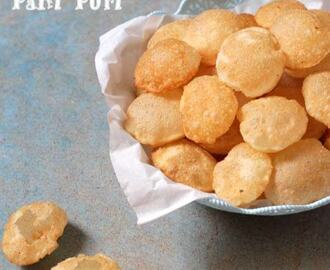 Puri for Pani Puri | Puri for Chaat Recipe