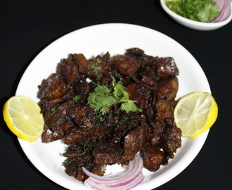 Chicken Liver Fry Recipe, Pan Fried | How to make chicken liver