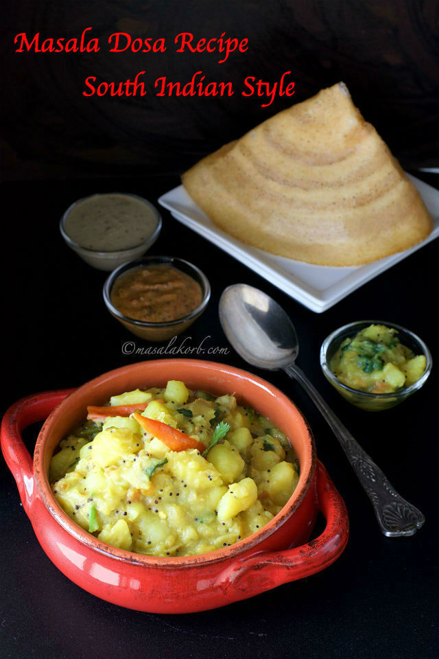 Masala Dosa Recipe South Indian Style | Special Masala Dosa | How to Prepare Masala Dosa at Home | South Indian Masala Dosa Recipe