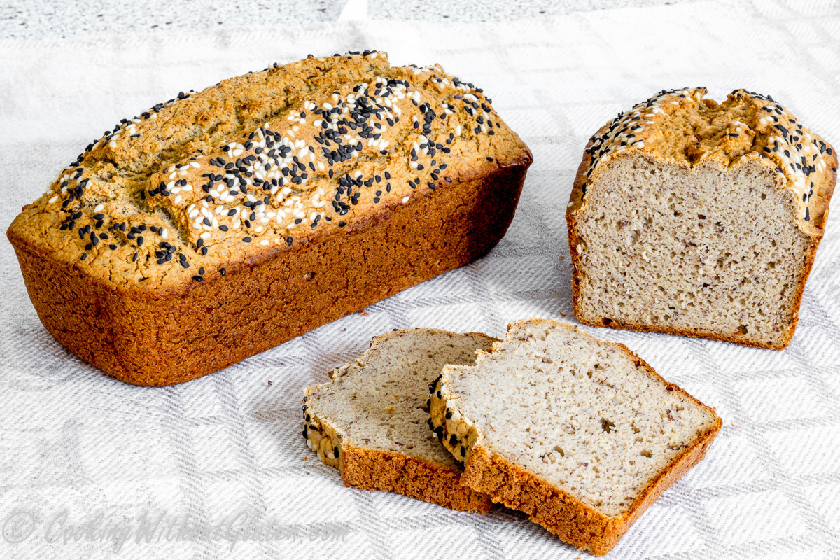 Cauliflower and Buckwheat Bread – Gluten, Grain, Dairy, Starches, Nuts, Gums, Yeast and Sugar Free