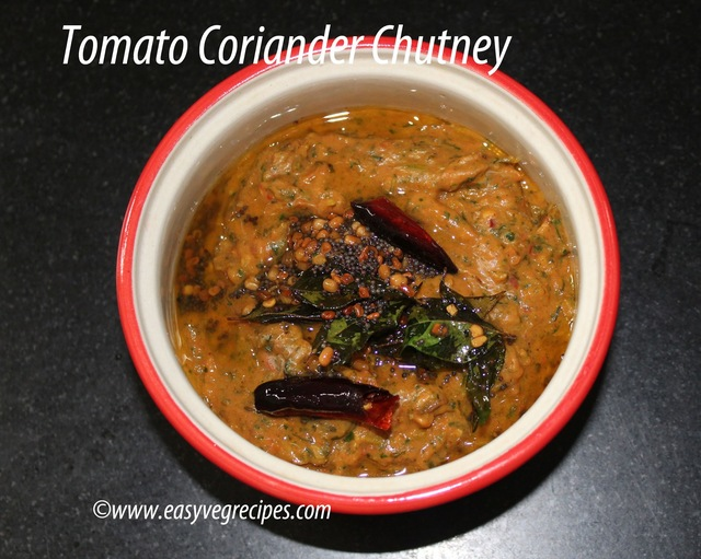 Tomato Green Chillies Chutney Recipe -- How to make Tomato Green Chillies Chutney Recipe