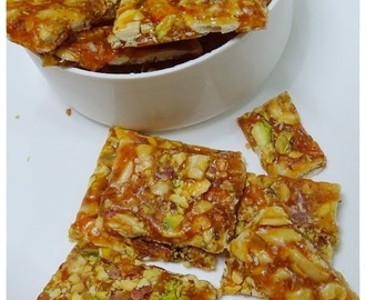 Dry Fruits Chikki Recipe