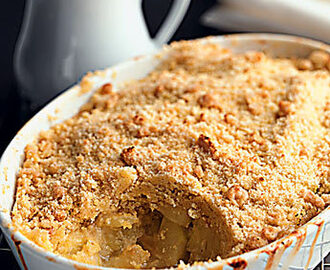 The World's Best Apple Crumble