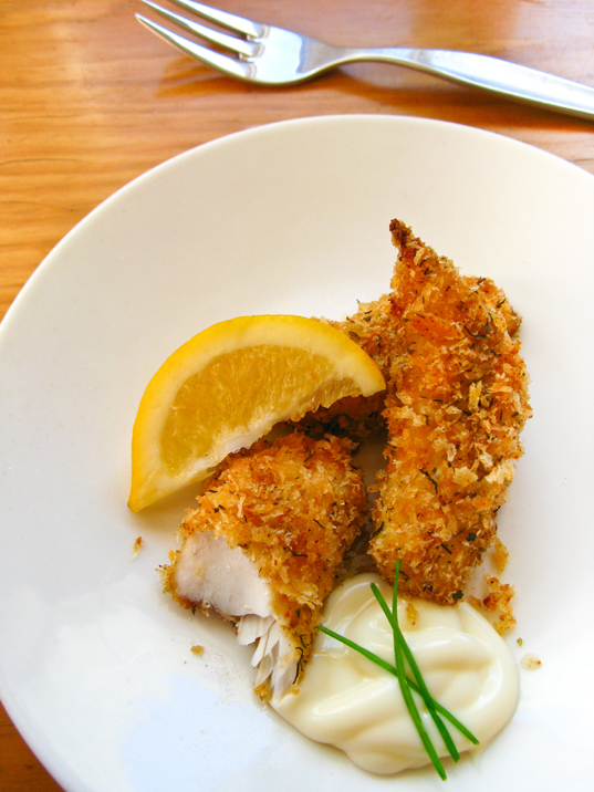 Spicy Panko Crumbed Fish