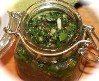 ~ Chimichurri:  The Sauce Steak Can't Live Without ~