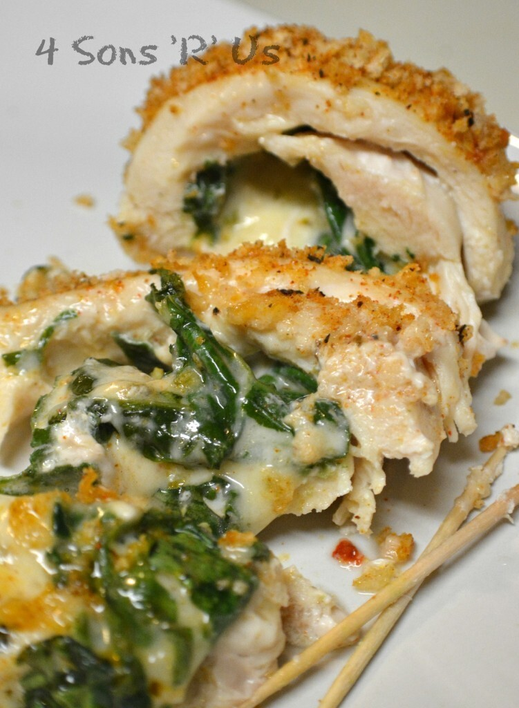 Cajun Chicken Stuffed with Spinach & Pepper Jack Cheese