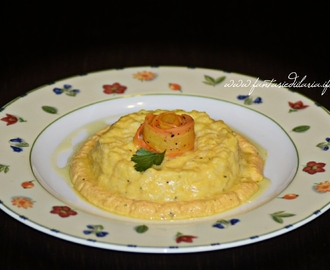 RISOTTO IN CREMA DI CAROTE E YOGURT