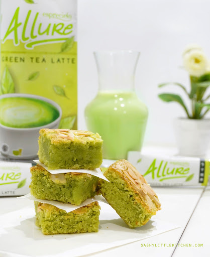 Allure Matcha Brownies