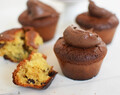 Vegan Chocolate – Tahini Cupcakes
