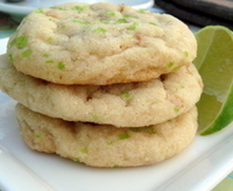 Coconut and Lime Chewy Sugar Cookies Recipe
