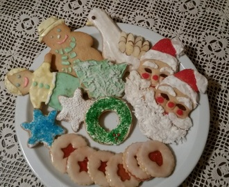 Santa Claus Cut-out Cookies