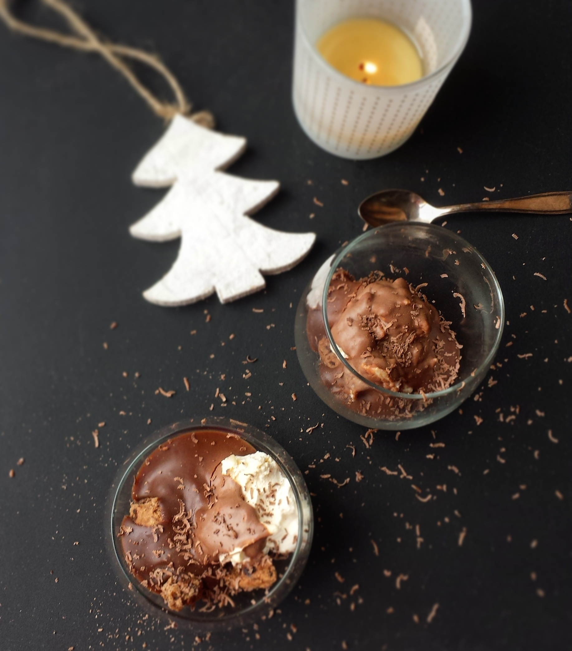 Chocolade Mascarpone (Mini) 'Trifle'