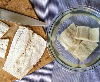 SALTED COD: legend and how to prepare before cooking