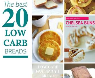 Best Low Carb Breads On The Internet