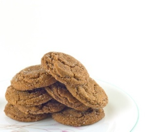 Soft & Chewy Triple Ginger Chocolate Cookies