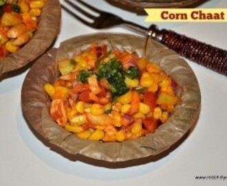 Corn Chaat Recipe (20 min snacks)