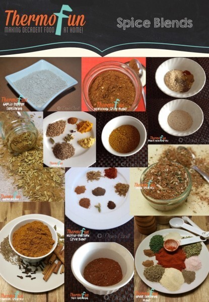 Spice Blends on ThermoFun