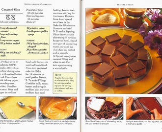 ※ Caramel Slice Little Aussie Cookbook (Recipe)