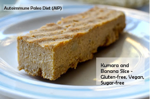 Kumara and Banana Slice - Gluten-Free, Vegan, AIP, Sugar-free