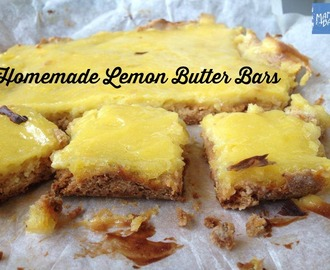 Lemon Butter Bars: GF option