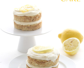 Mini Lemon Cream Cake