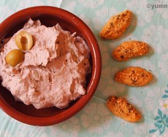 White Bean Hummus with Walnuts and Olives