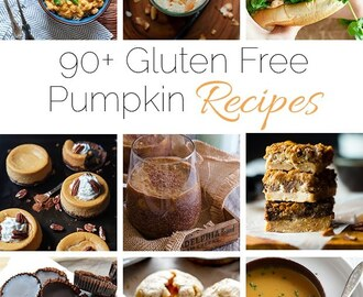 90+ Healthy, Gluten Free Pumpkin Recipes