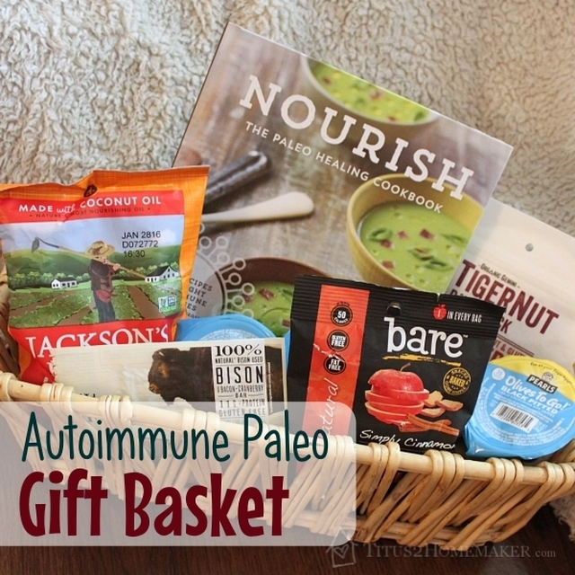 {Book-Based Basket} Special Diet Gift Basket (AIP)
