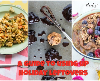 Guide to using up holiday leftovers
