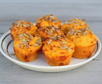Kumara and Bacon Mini Muffins