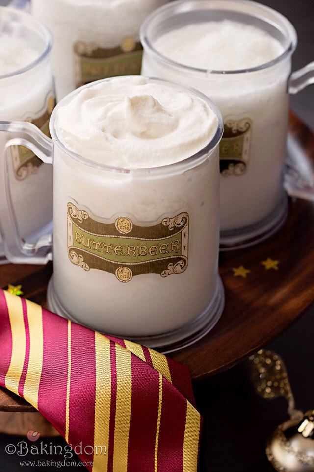 Toast Harry's Birthday with Frozen Butterbeer! {UPDATED}