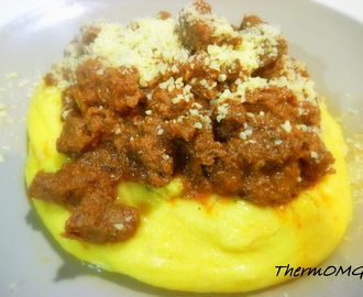 Tuscan Beef with Polenta