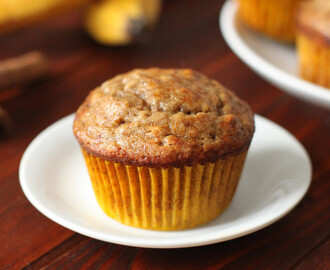 Banana Bread Muffins: Good Morning to You!