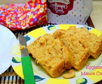Eggless Mawa Cake | How to make Mawa Cake