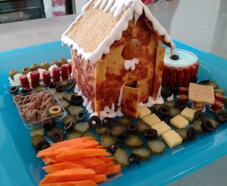 "Savoury ""Gingerbread"" House – LCHF"
