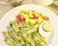 15-minute Pasta and Pesto Recipe