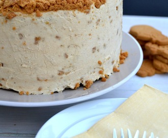 Gingerbread Layer Cake with Vanilla Creamy Cream Cheese Frosting