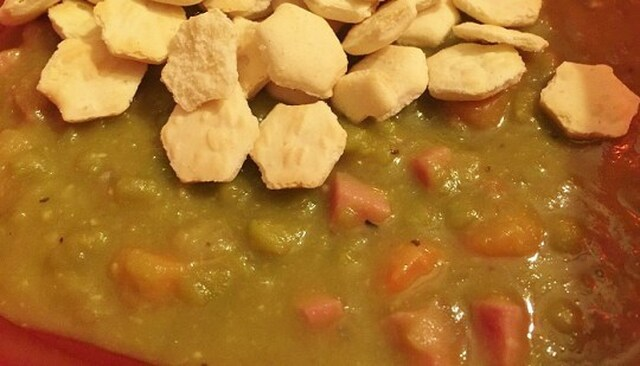 Dad's Old Fashioned Split Pea Soup