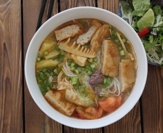 Bun Cha Ca - Fish Cake Noodle Soup ( Lent Friendly)