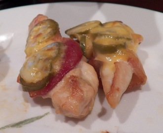 Jalapeno Popper Bacon Wrapped Chicken