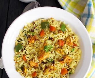 egg fried rice indian style, easy egg fried rice