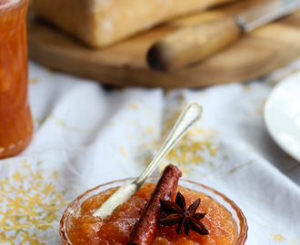 Spiced Quince Jam