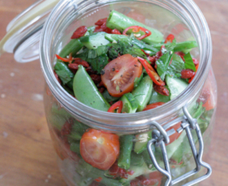 Food Remedy X Raw Sweet Bean Salad
